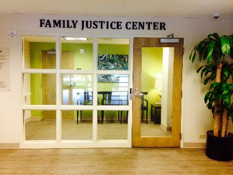 Family Justice Center entrance