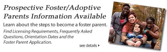 Info for Prospective Foster Parents button