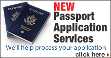 Passport Application Services button