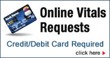 Online Vitals Requests button