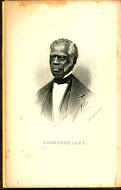 Small, drawn portrait of an African-American man
