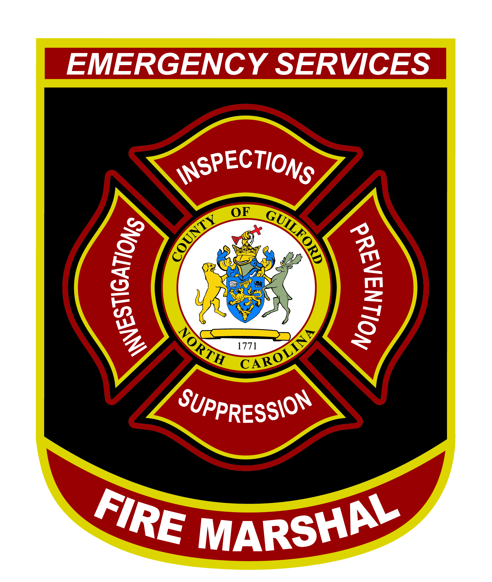 GCES fire marshal patch