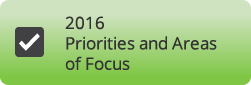 2016 Priorities and Areas of Focus botton
