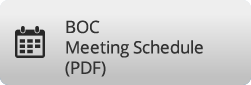 BOC Meeting Schedule (PDF) button