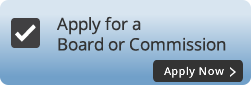 Apply for a Board or Commission button