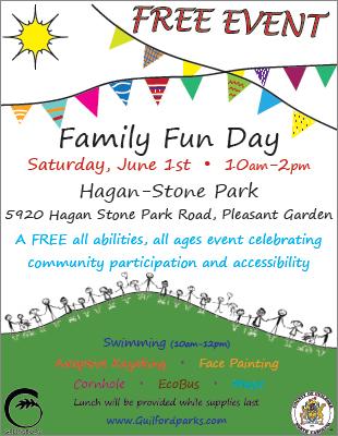 Hagan-Stone Park Family Fun Day 2019 – Saturday, June 1st | County