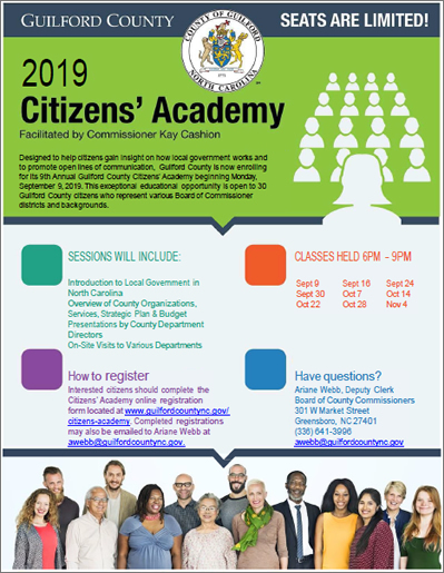 Citizens' Academy   Guilford County, NC