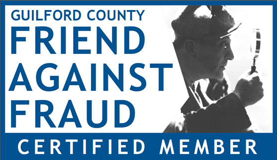 Friend Against Fraud member badge