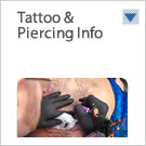 Tattoo & Piercing Info button