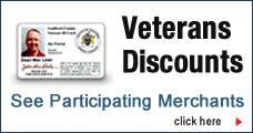 Veterans Discounts button