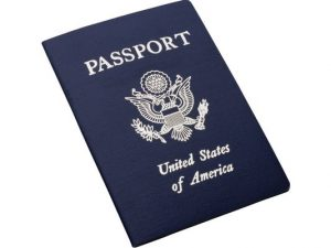 Picture of US passport
